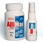 Allimax Bundle - 30 ct. Capsules & Rescue Spray