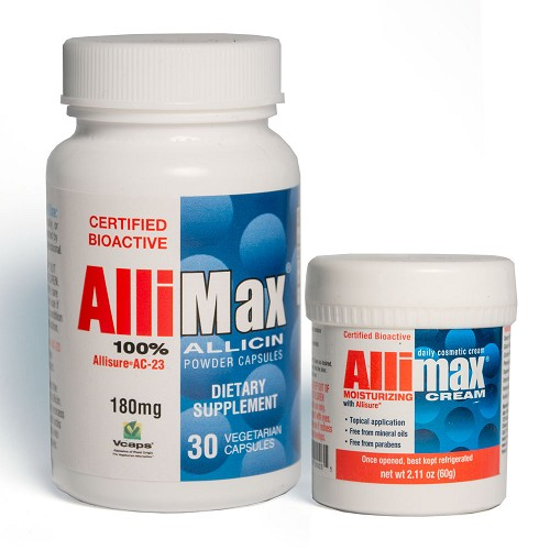 Allimax Bundle - 30 ct. Capsules & Allimax Cream