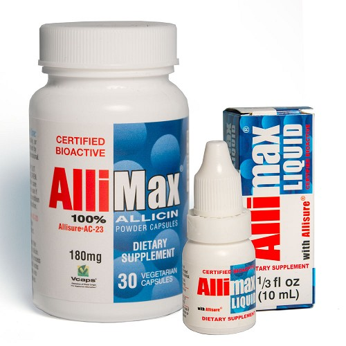 Allimax Bundle - 30 ct. Capsules & Allimax Liquid