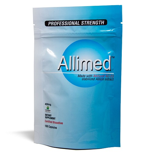 Allimed Capsules 100 Count Foil Pack